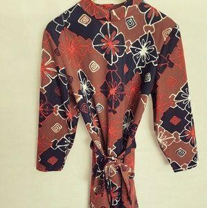 Women's 1970s Sears Fashions Mini Dress